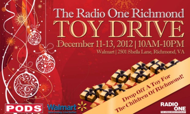 Support the Radio One TOY DRIVE!!! RVAliens HELP OUT! @iPower921