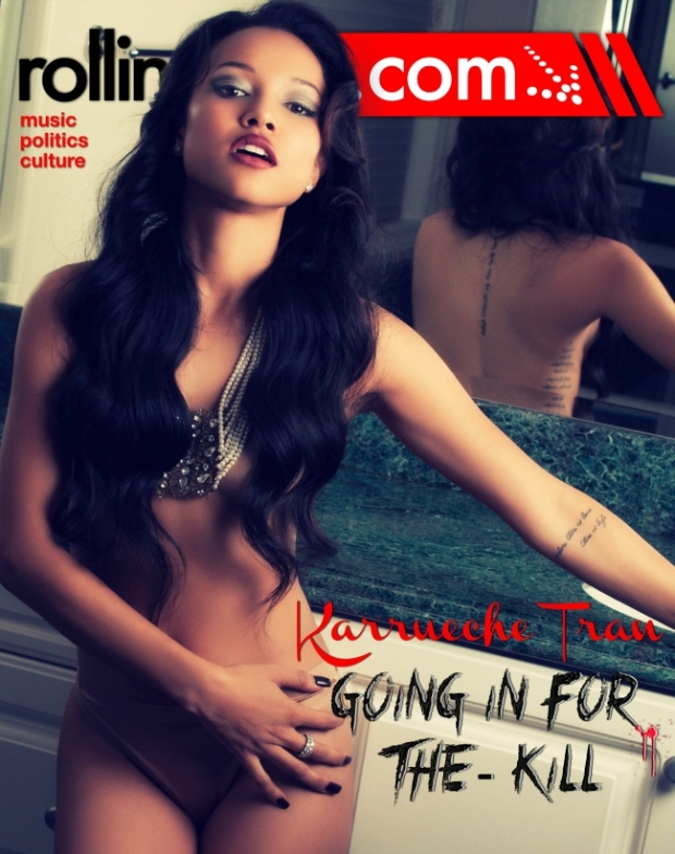 Have you seen Karrueche (@karrueche) on The Cover Of Rolling Out.Com? HAWT!!!!