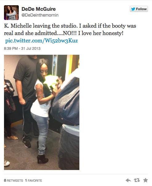 You Wont Believe What K.Michelle Just Admitted On The Radio!!!!